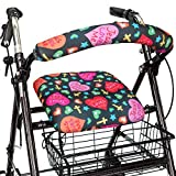 Top Glides Jesus Loves Me Universal Rollator Walker Seat and Backrest Covers (Christian)