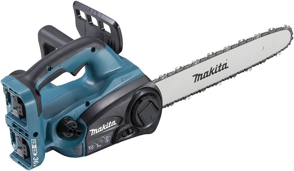 マキタ 充電式チェンソー ガイドバー400mm 青 18V+18V バッテリ充電器別売 MUC352DZ