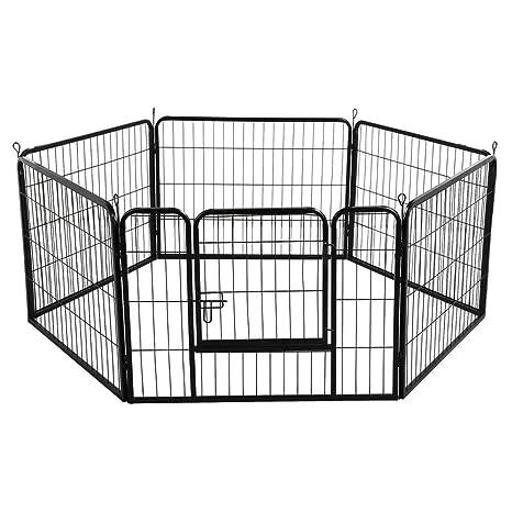 Recinzione Giardino Per Gatti.Yaheetech Recinto Per Cani Cuccioli Conigli Gatti Animali Da Interno