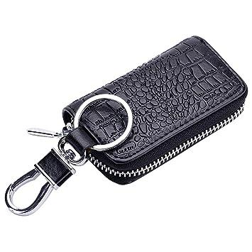 Amazon.com: Esdrem - Funda de piel para llave de coche con ...