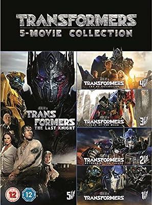 Transformers: 5-Movie Collection (DVD + Bonus Disc) [2017]
