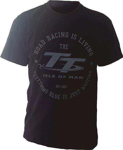 a2970692dbc Tourist Trophy T-Shirt Officiel Road Racing is Living - Small  Amazon.fr   Vêtements et accessoires