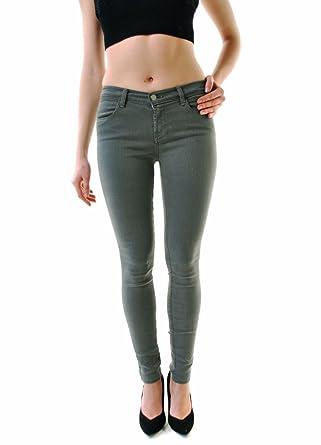 J BRAND Women's Spruce Skinny Jeans Green 620O222 Size 28