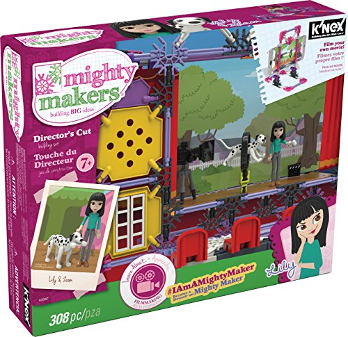 KNEX-Mighty-Makers-Directors-Cut-Building-Set-308-Pieces-Ages-7-Construction-Educational-Toy