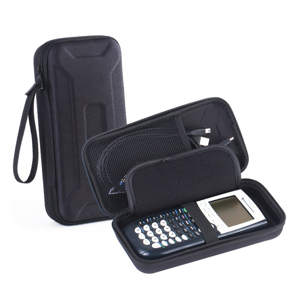 LuckyNV Protective Cover Case for TI-84/Plus 89/83 CE. + More Graphing Calculator Texas Instruments.Hard Carrying Travel Storage Case