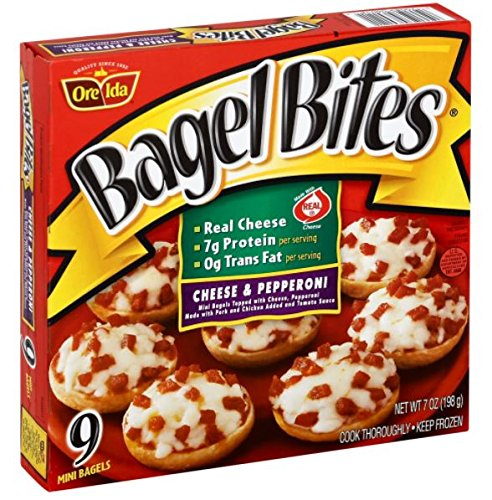 Bagel Bites, Cheese and Pepperoni, 7 oz., (8 count)
