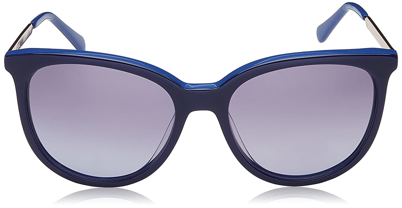 Amazon.com: anteojos de sol Fossil 3064/S 0pjp Azul/GB Gray ...