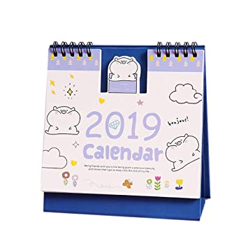 Lower Price with Multifunction Schedule Planner Notebook Kawaii Cartoon Animal Calendar Desk Standing Paper Calendar Cheapest Price From Our Site Office & School Supplies
