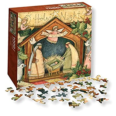 Wells Street By Lang Holy Night Puzzle By Susan Winget 1000 Piece By Lang