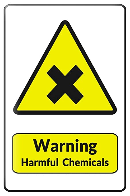 HALEY GAINES Harmful Chemicals Placa Cartel Póster de Pared ...