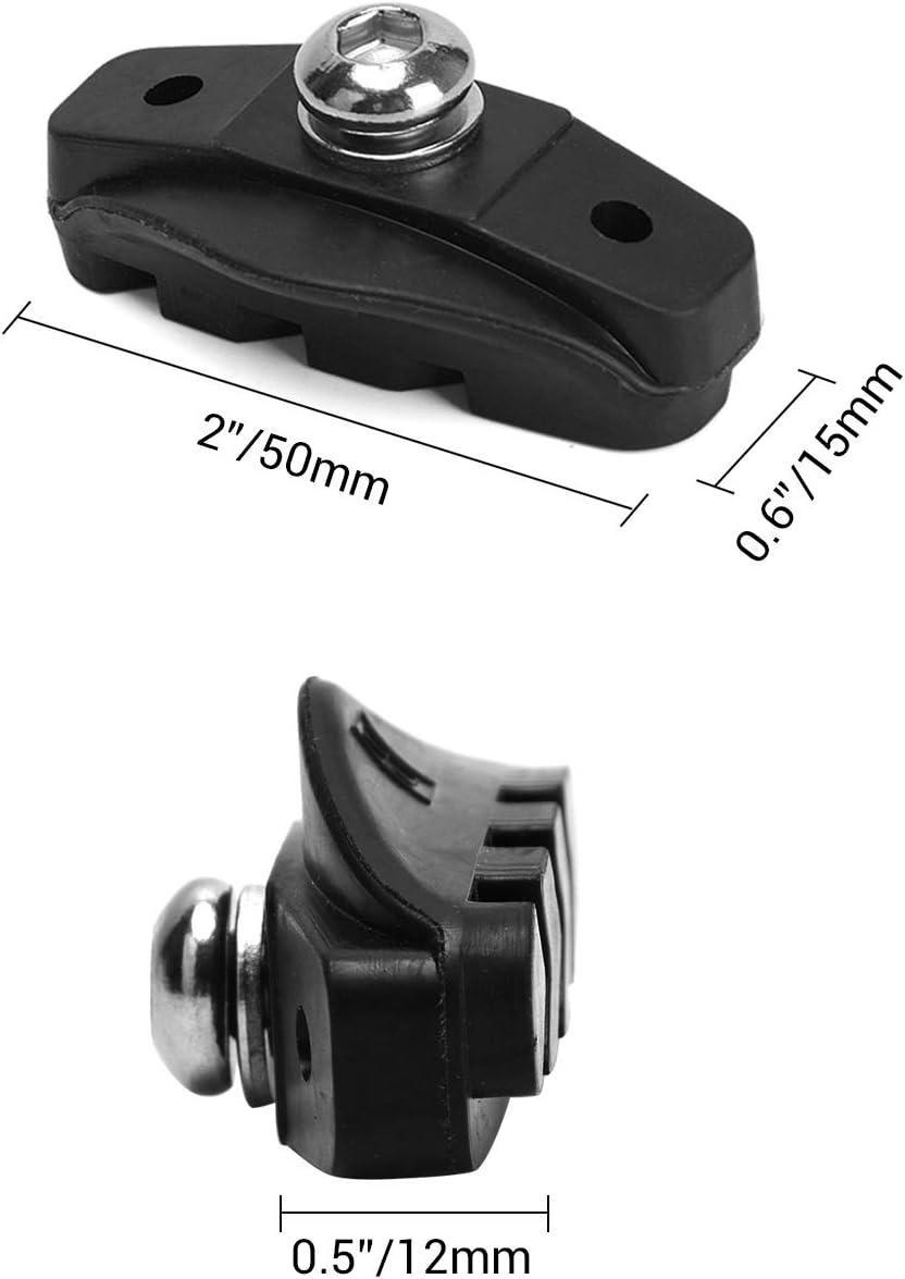 Hex Wrench TOBWOLF 6 Pairs C-Brake /& V-Brake Bike Brake Pads Brake Caliper Blocks Rim Brake Caliper Cartridge Attachment for Road Mountain Bicycle Cycle Fixie Bike