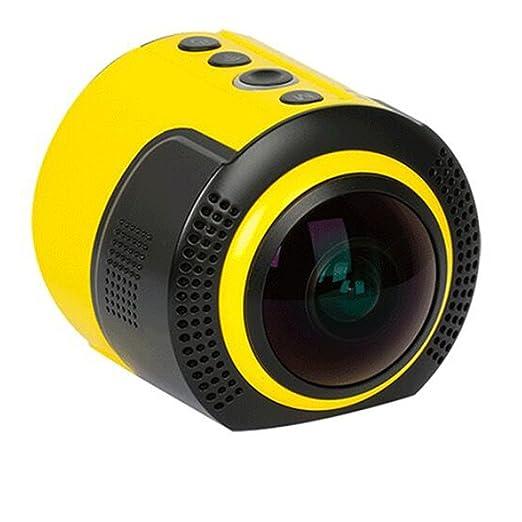 DETU Wireless 360 Degree Panoramic Sports Action Camera (8 MP and 1080p HD)