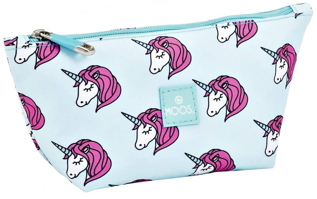 Ragusa-Trade Musgo Unicornio Unicornio Niñas Mujer, Neceser ...