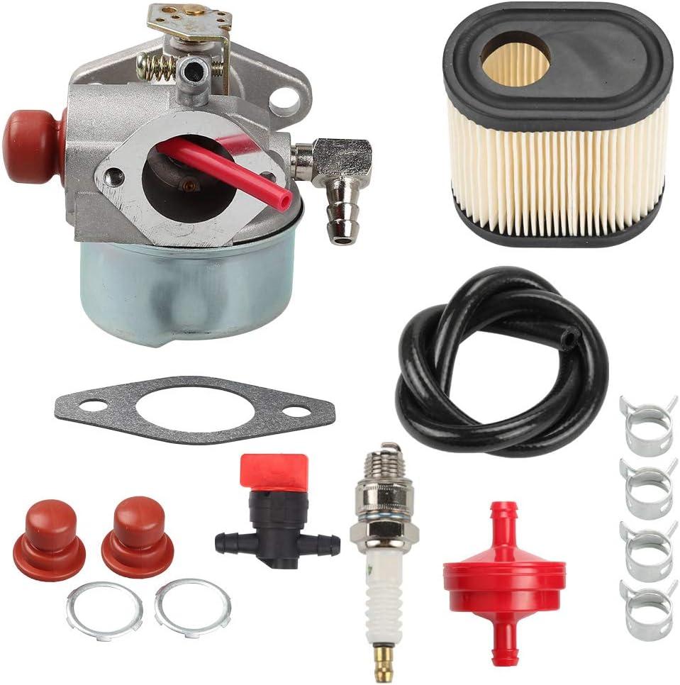 Hayskill 640350 Carburetor Replace for Tecumseh 640350 640303 640271 for Toro Recycler 640271 640303 LV195EA LEV100 LEV105 LEV120 20016 20017 20018 6.75 HP Toro Lawnmowers