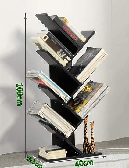 Estanterías para Libros Estantería Simple Estantería en Forma ...
