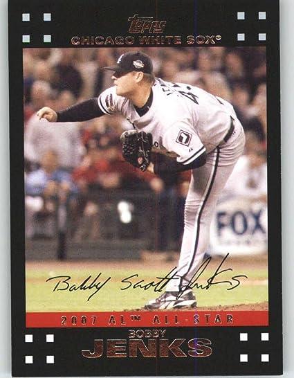 Chicago White Sox 2007 Topps Update #272 Bobby Jenks All-Star Baseball Cards