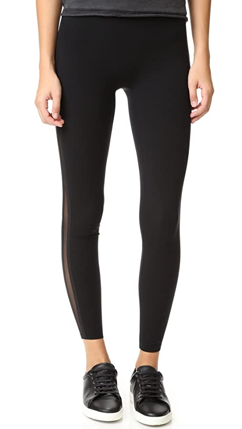 8c30f51097b25d SPANX Every Wear Mesh Side Stripe Very Black Leggings 50007R: Amazon.ca:  Clothing & Accessories