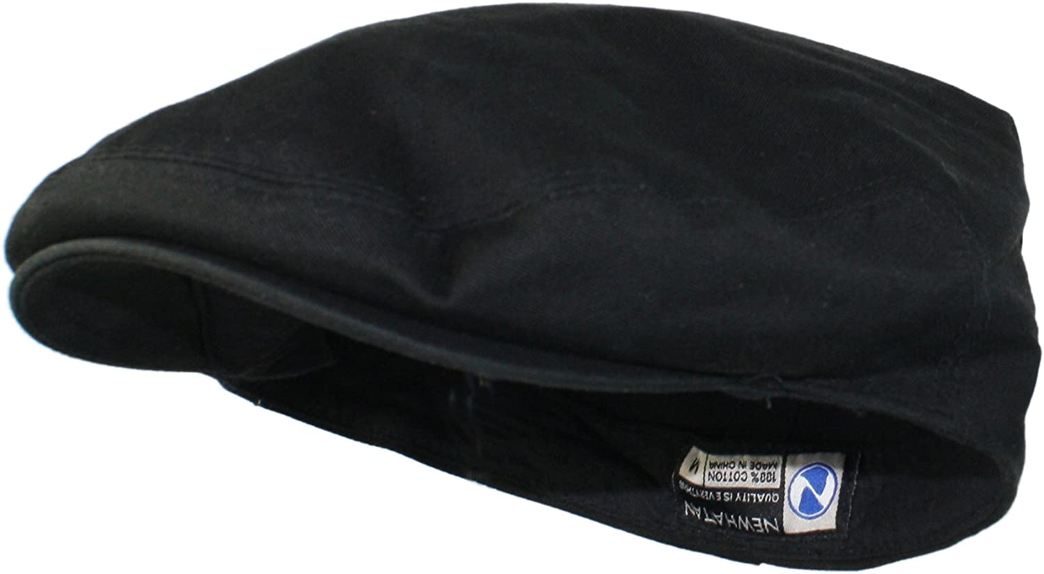 Ted & Jack - Street Easy Traditional Solid Cotton Newsboy Cap