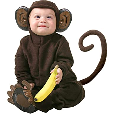 cute infant baby monkey halloween costume 12 18 months
