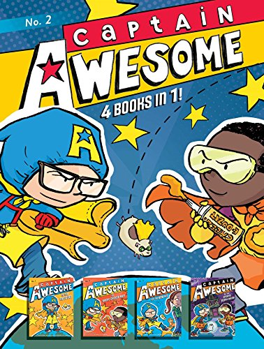Captain Awesome 4 Books in 1! No. 2: Captain Awesome to the Rescue, Captain Awesome vs. Nacho Cheese Man, Captain Awesome and the New Kid, Captain Awesome vs. the Spooky, Scary House -