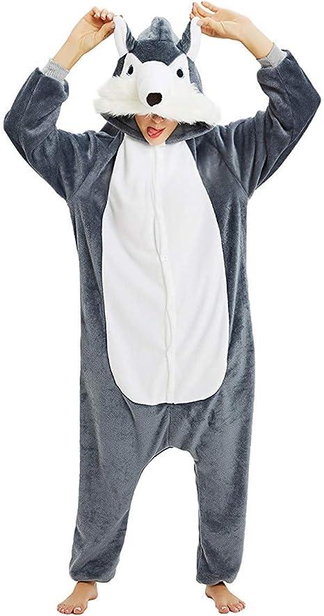 Mescara Disfraz de píjama Unicornio para Mujer, para Invierno ...