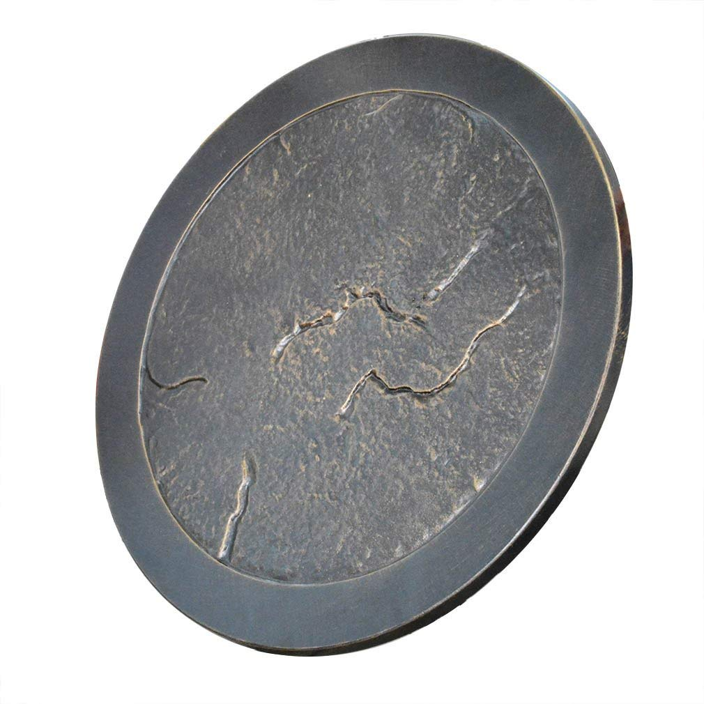 Stanbroil Rust-Free Cast Aluminum Fire Pit Burner Cover - Lazy Susan for Agio and TK Classics (Renewed) by Stanbroil