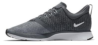 Nike Damen Laufschuh Zoom Strike, Chaussures de Running Compétition Femme, Gris (Dark Grey/White-Steam 002), 40 EU