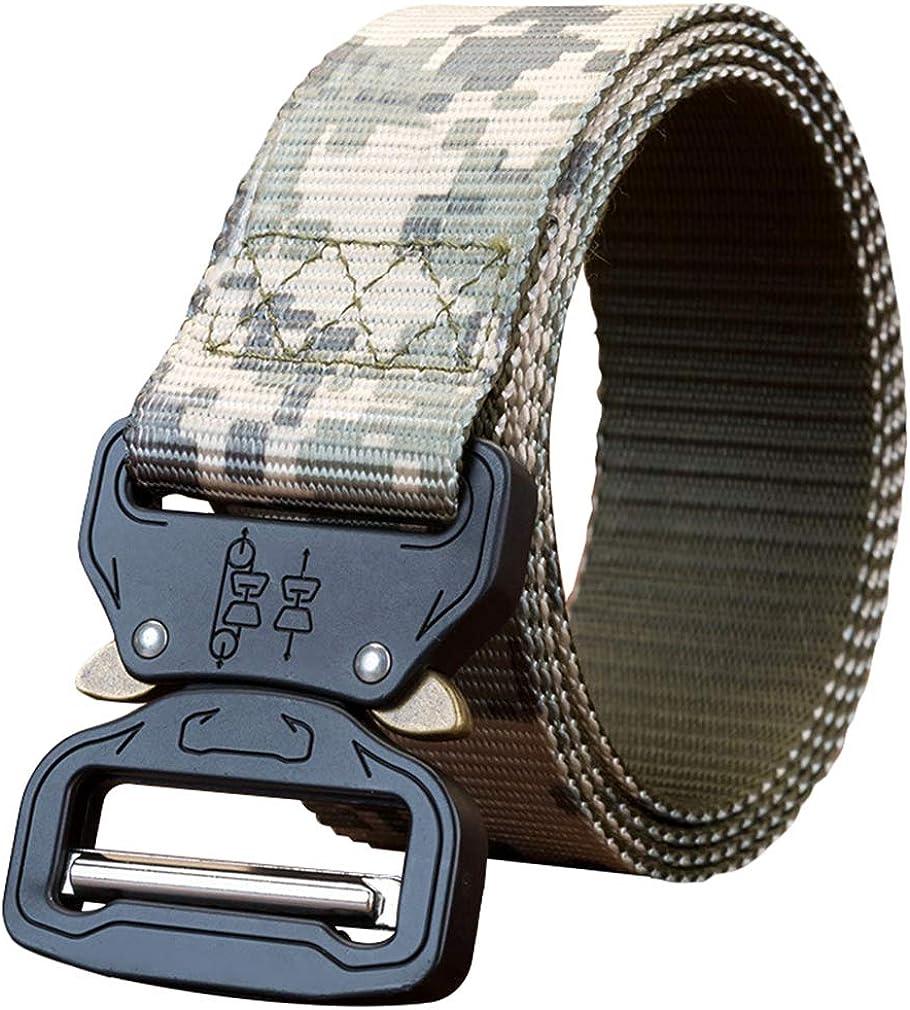 Chenqi Correa táctica Cobra Quick Release Gear Clip Hebilla metálica Correa de nylon ajustable de estilo militar con caja de regalo hermosa: Amazon.es: Ropa y accesorios