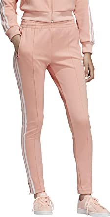 adidas SST TP W trainingsbroek dust pink: Amazon.nl