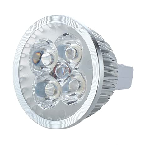 SODIAL(R) LED MR16 Luz de Foco 12V 4W (340 Lumen - Equivalente