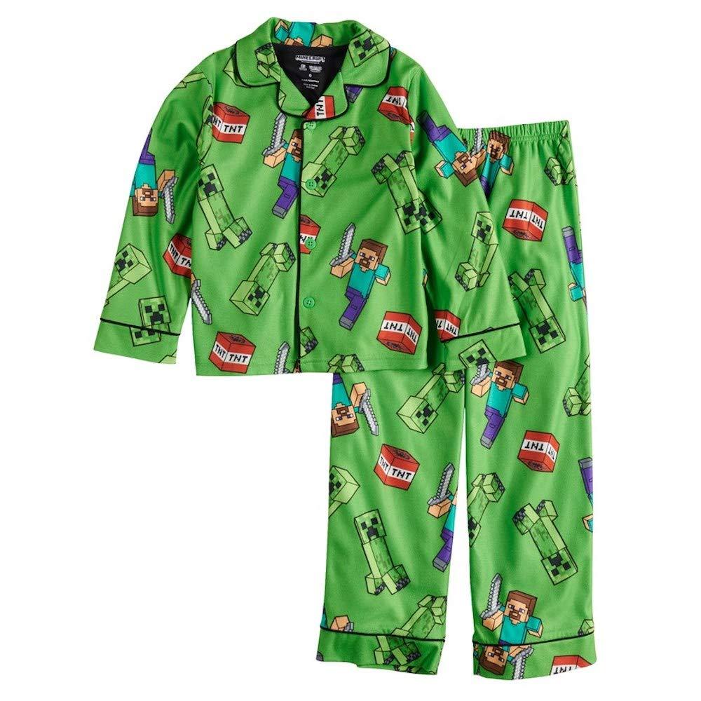 Minecraft Boys 2-Piece Pajama Set Pajama Set