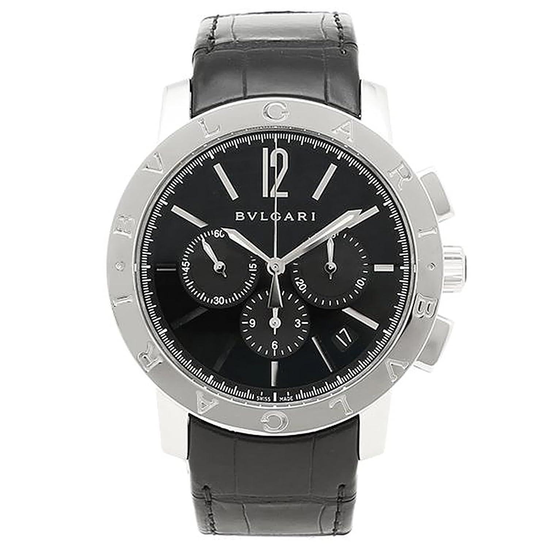 (ブルガリ) BVLGARI 腕時計 ブルガリブルガリ BB41BSLDCH ブラック メンズ [並行輸入品] B00U8LETWG