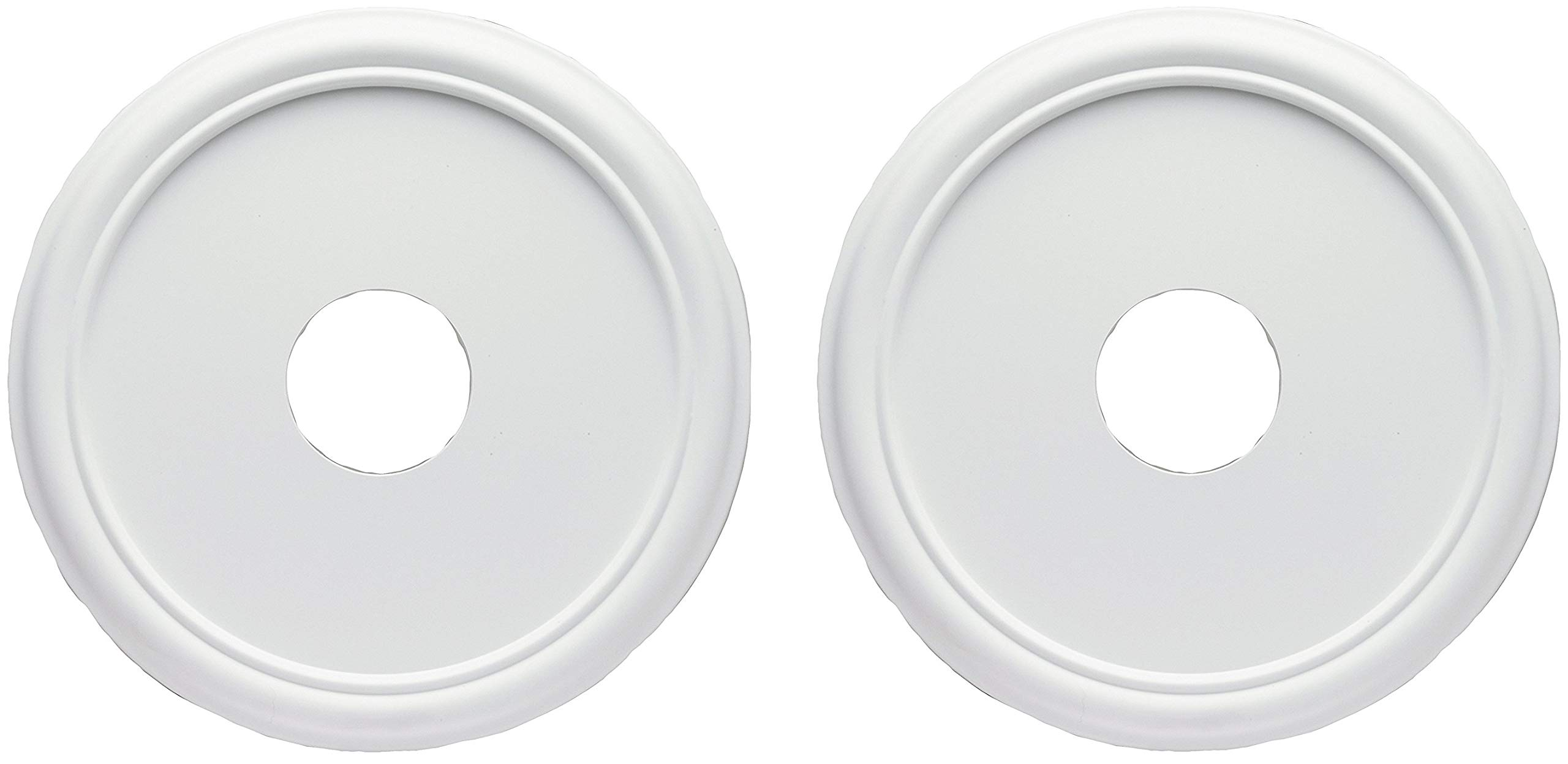 Westinghouse 16-Inch Smooth White Finish Ceiling Medallion (2 Pack)