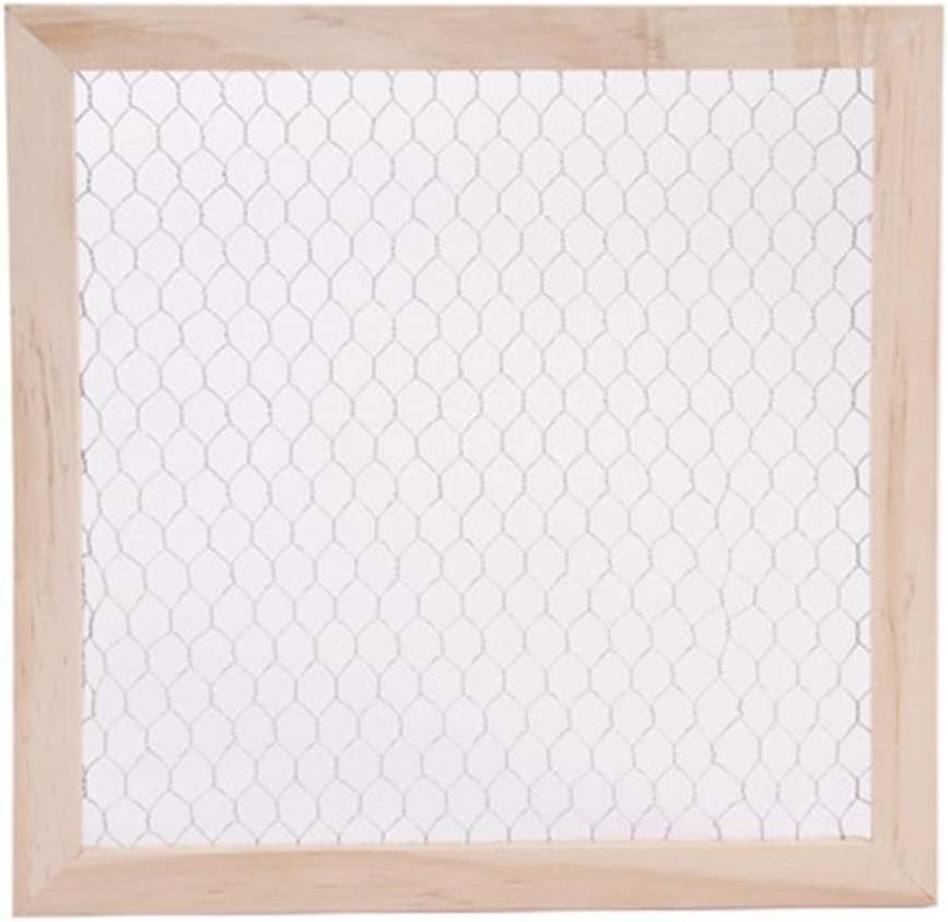 Darice 9190-9635 UNFINISHED WOO CHICKEN WIRE FRAME 12X12, Multi