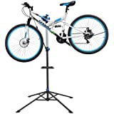 Yaheetech Pro Mechanic Bicycle Repair Workshop Stand Maintenance Rack Tool Tray Extensible Bike Repair Stand