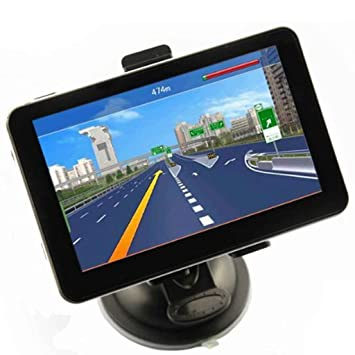"Econoled 5 ""HD coche GPS navegación HD pantalla táctil reproductor multimedia actualización gratuita de"
