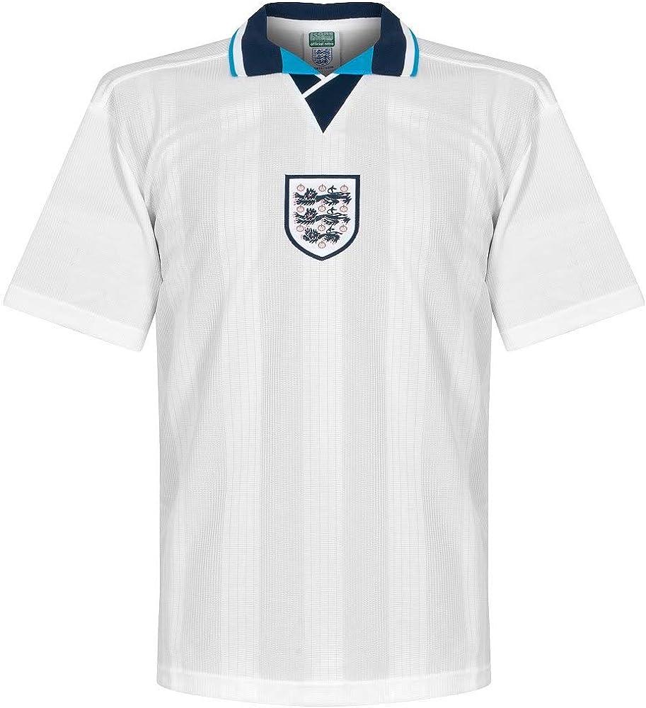 Score Draw England 1996 Home Football Soccer T-Shirt Jersey