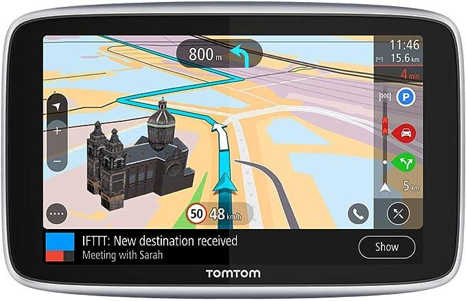 Tomtom Navigationsgerät Go Premium 6 Zoll Stauvermeidung Dank Tomtom Traffic Karten Updates Welt Updates über Wifi Freisprechen Navigation