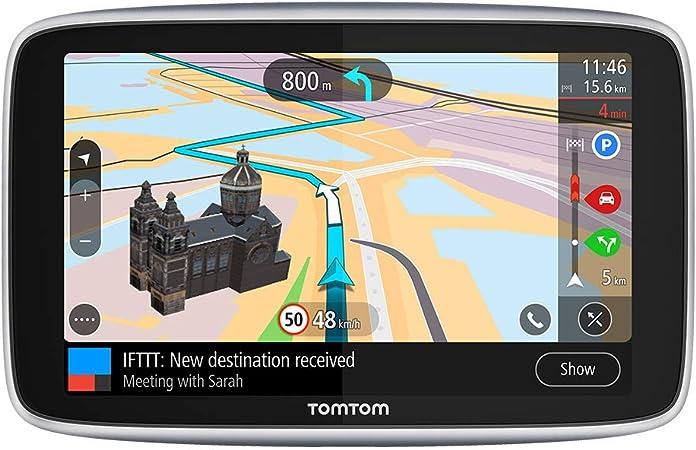 Tomtom Navigationsgerät Go Premium 5 Zoll Stauvermeidung Dank Tomtom Traffic Karten Updates Welt Updates über Wifi Freisprechen Navigation