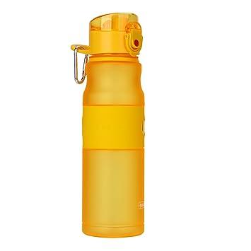 amazon 水ボトル 旅行スポーツ食品グレードクリアプラスチック