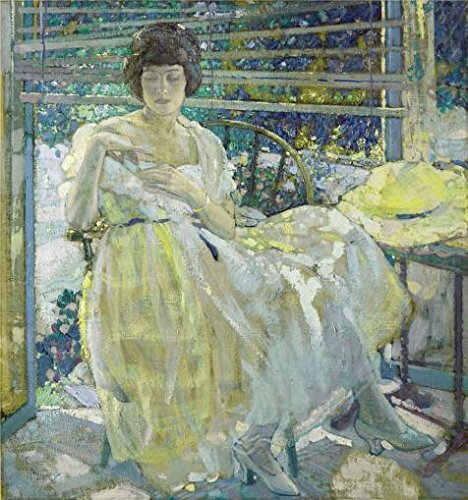 Amazon Oil Painting Richard Edward Miller The Sun Porch 1922