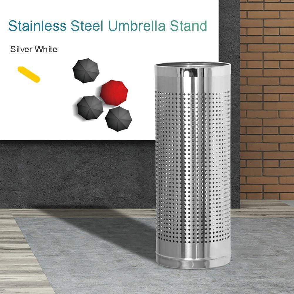 Color : Black LXLA Modern Metal Umbrella Stand Entryway Freestanding Umbrella Holder Rack for Home Office Decor