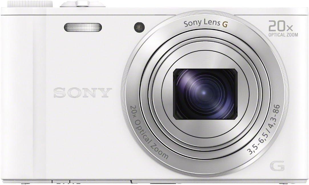 Sony Dsc Wx350 Digitalkamera 3 Zoll Weiß Kamera
