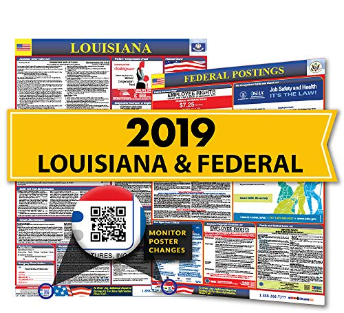 - 2019 Louisiana State & Federal Labor Law Posters for Workplace Compliance