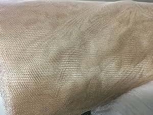 """Tejido de malla de mosquitos por skeeta 66""""de ancho x 10Yards–Antique Beige"""