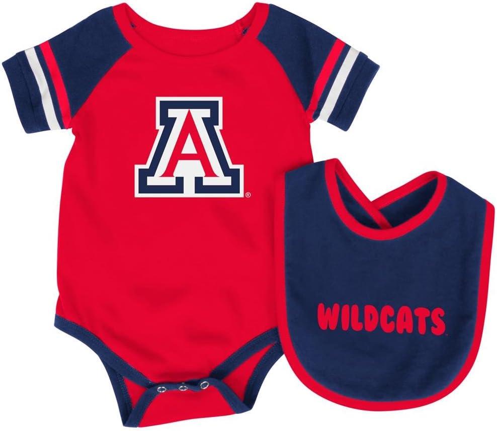 University of Arizona Wildcats Baby and Toddler Cheerleader Bodysuit Dress