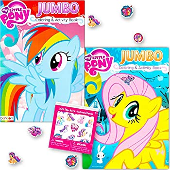 Amazon Com My Little Pony Coloring Book Super Set With Stickers 2