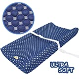 Super Soft and Comfy Changing Pad Cover for Baby by BlueSnail (Navy)