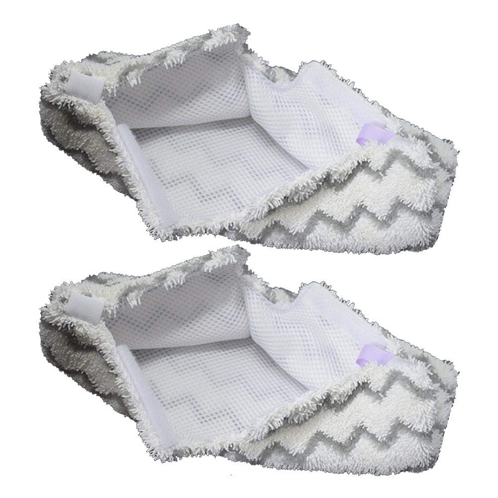 pack of 2 Steam Mop Cloth Cover Shark Mop Accessories S3501 Mop Head Microfiber Mop Cloth Replacement Pad