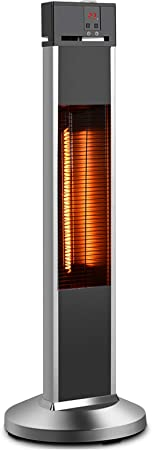 Patio Heater-Trustech Space Heater Infrared Heater w/Remote - Excellent For Diseased People